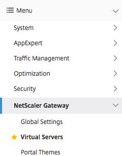 Citrix Netscaler 12 |