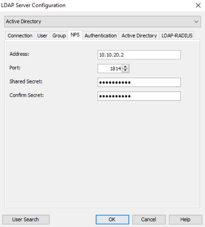 Configure Network Policy Server to enable password change.