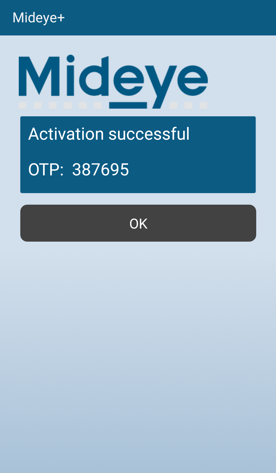 Activation finished